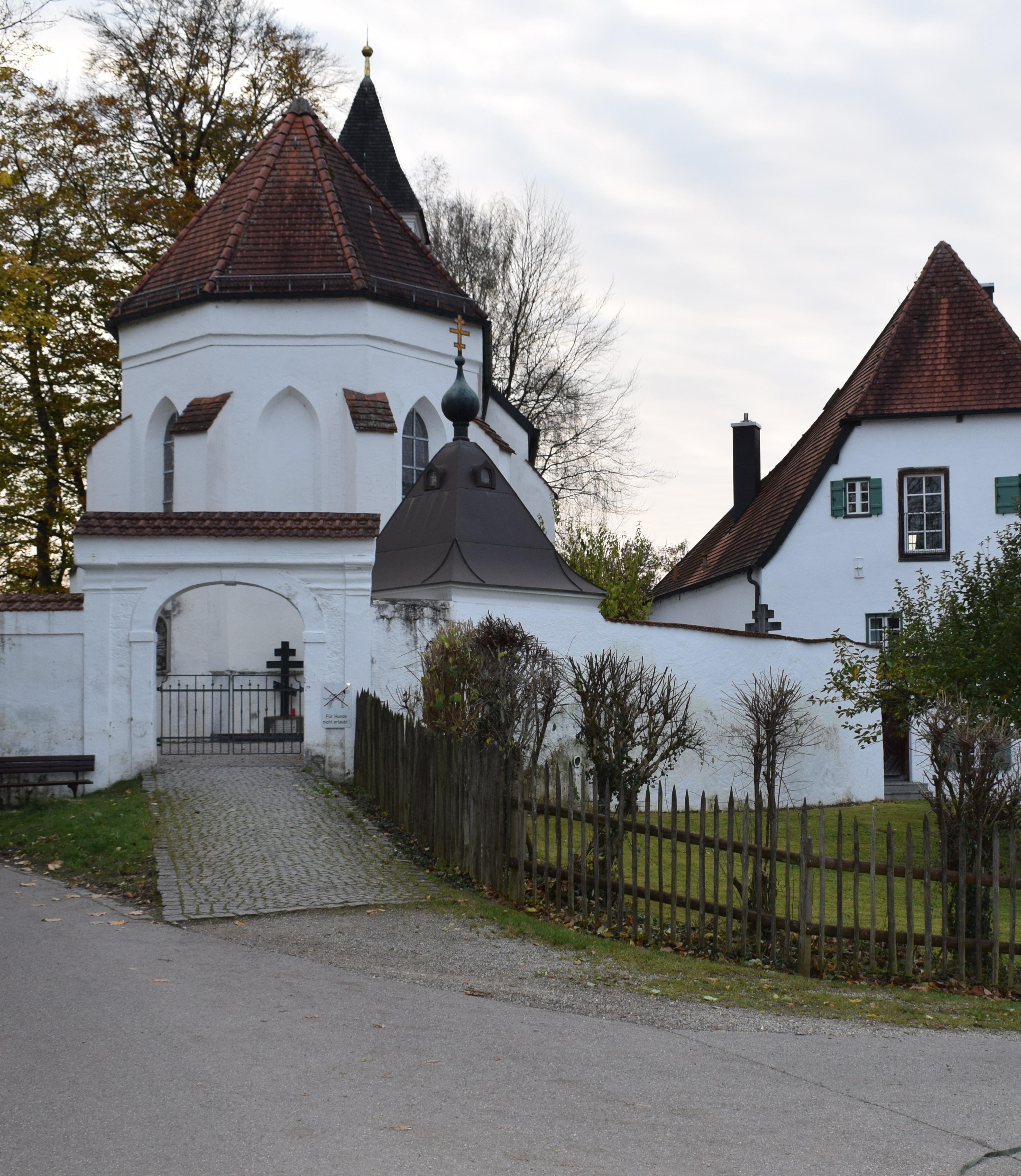 Kloster Seeon, die St. Walburgis Kirche