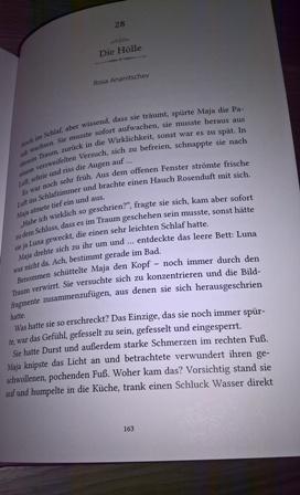 """""""Die Hölle"""", Kurzgeschichte in der Anthologie """"Frauen schreiben Wundervoll"""""""