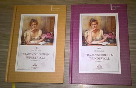 """""""Frauen schreiben wundervoll"""", Band 1 und 2, Apollon Tempel Verlag"""