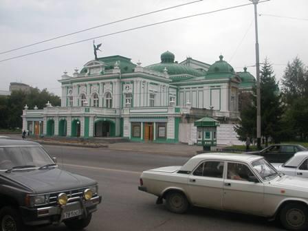 Das DrTheater in Omsk (Sibirien), Foto von 2003