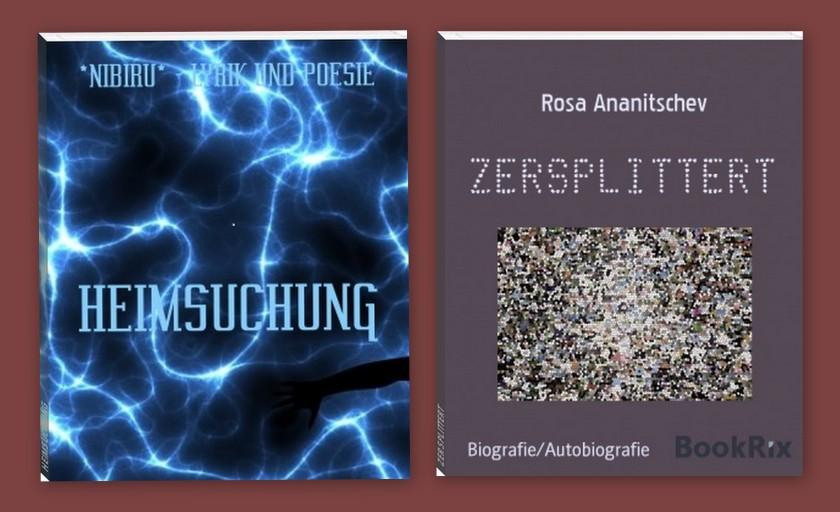 """""""Heimsuchung"""" von Nibiru und """"Zersplittert"""" von Rosa Ananitschev"""