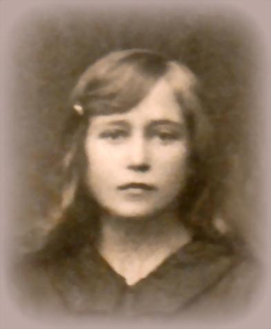 Ida Hetterle im Alter von 14 oder 15 Jahren