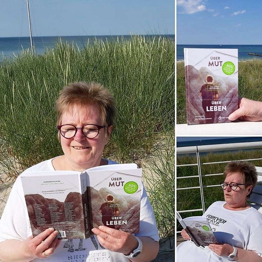 """Anthologie """"über Mut - Über Leben: Vom Opfer zum Helden"""", Q5 Verlag. An der Ostsee mit Rosa Ananitschev"""