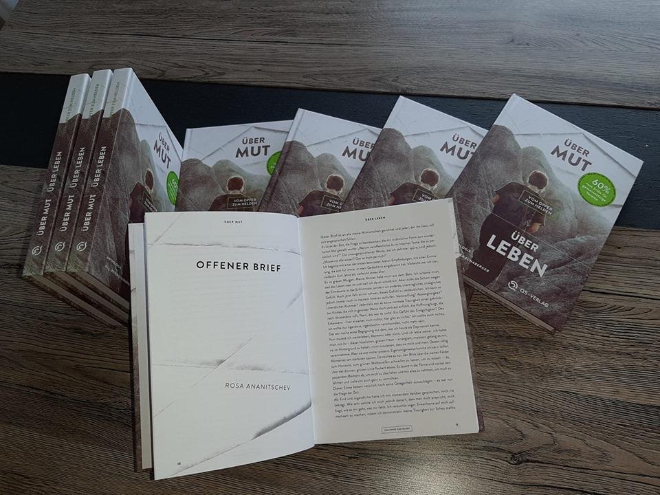 """Anthologie """"Über Mut - Über Leben: Vom Opfer zum Helden"""". Beitrag von Rosa Ananitschev """"Offener Brief"""""""