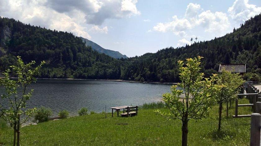 Schwarzensee in Österreich (2017)