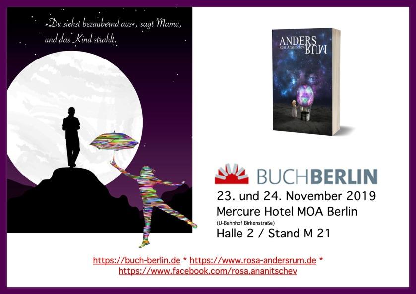 """""""Andersrum"""" von Rosa Ananitschev auf der Buchmesse Berlin 2019"""