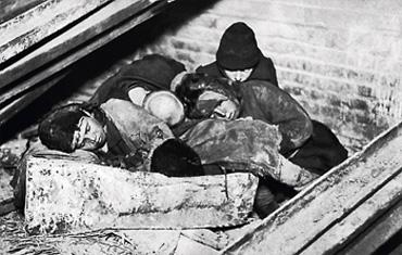 Straßenkinder, Hunger 1931-1933