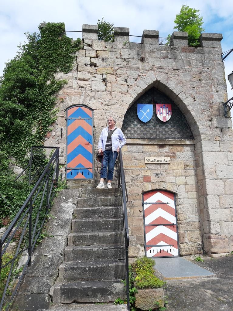 Die alte Stadtwarte in Bad Sooden-Allendorf