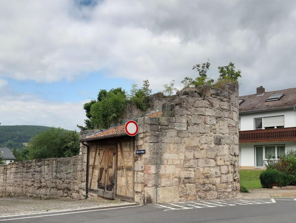 Teil der alten Stadtmauer in Bad Sooden-Allendorf