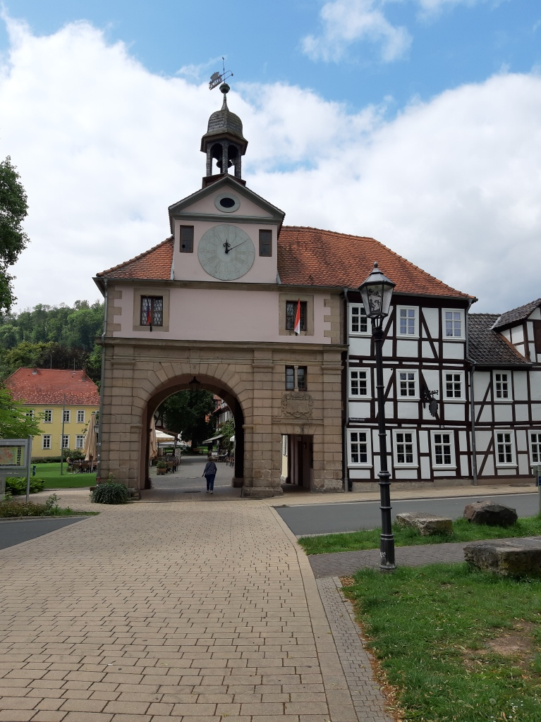 Das alte Stadttor in Bad Sooden-Allendorf