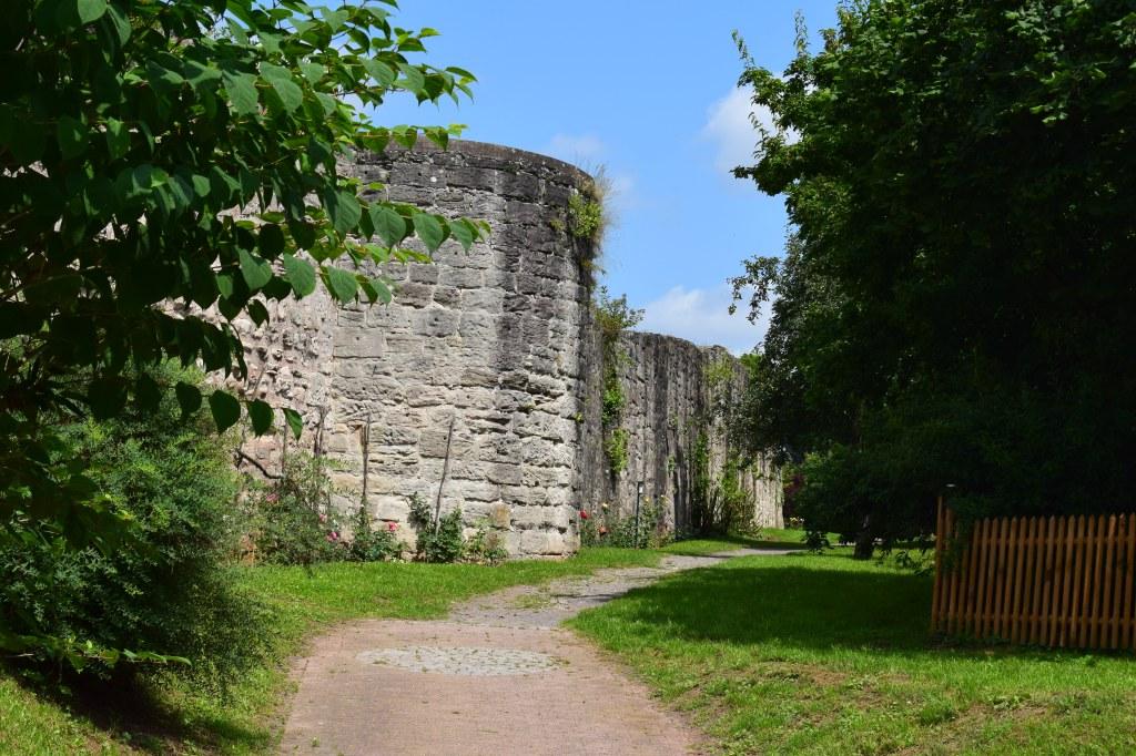 Die alte Stadtmauer in Bad Sooden-Allendorf