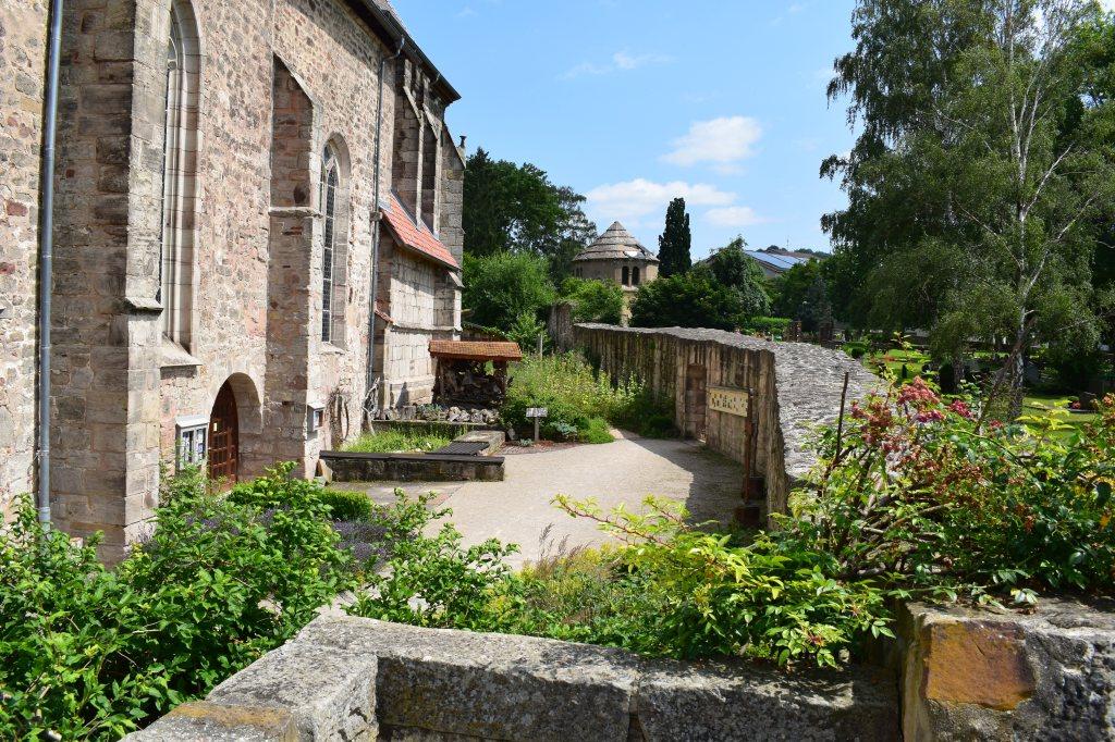 Kirche am Friedhof in Bad Sooden-Allendorf